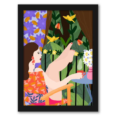 Waiting For Summer by Studio Grand-Pere Black Framed Print - Framed Print - Americanflat