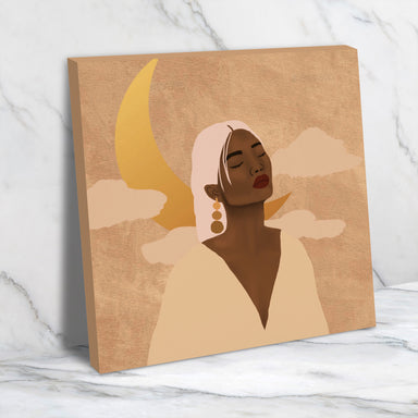 Dreamer by Sarah Dahir - Wrapped Canvas - Wrapped Canvas - Americanflat