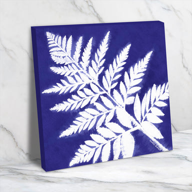 Fern Batik by Annie Riker - Wrapped Canvas - Wrapped Canvas - Americanflat