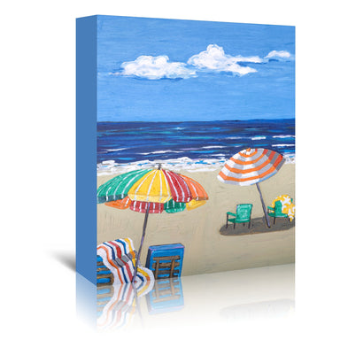Beach Day by Mandy Buchanan - Wrapped Canvas - Wrapped Canvas - Americanflat