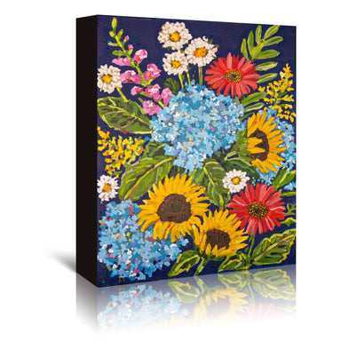 Summer Mix by Mandy Buchanan - Wrapped Canvas - Wrapped Canvas - Americanflat