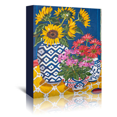 Summer Trio by Mandy Buchanan - Wrapped Canvas - Wrapped Canvas - Americanflat