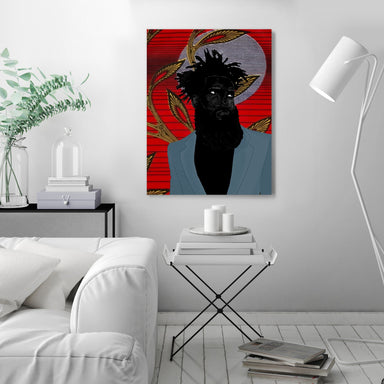 Adonis by Uzo Njoku - Wrapped Canvas - Wrapped Canvas - Americanflat