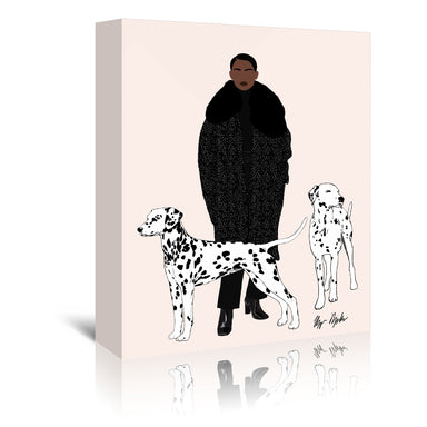Dalmations by Uzo Njoku - Wrapped Canvas - Wrapped Canvas - Americanflat