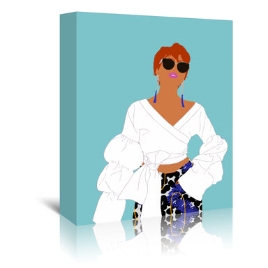 In Vogue by Uzo Njoku - Wrapped Canvas - Wrapped Canvas - Americanflat