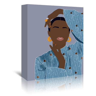 Pose by Uzo Njoku - Wrapped Canvas - Wrapped Canvas - Americanflat