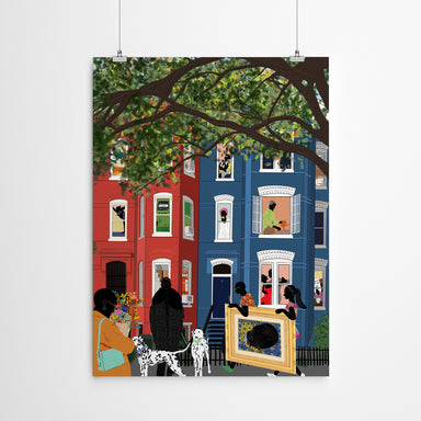 The Neighborhood by Uzo Njoku - Art Print - Art Print - Americanflat