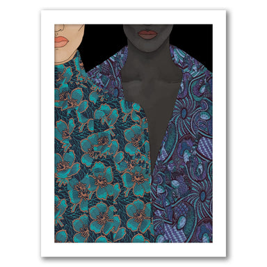 Two Bodies by Uzo Njoku - Framed Print - Framed Print - Americanflat