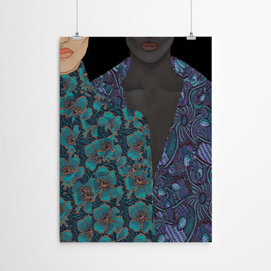Two Bodies by Uzo Njoku - Art Print - Art Print - Americanflat