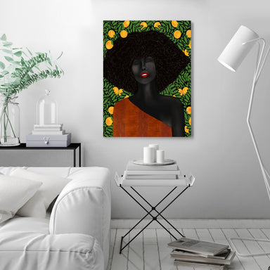 Under The Udala by Uzo Njoku - Wrapped Canvas - Wrapped Canvas - Americanflat