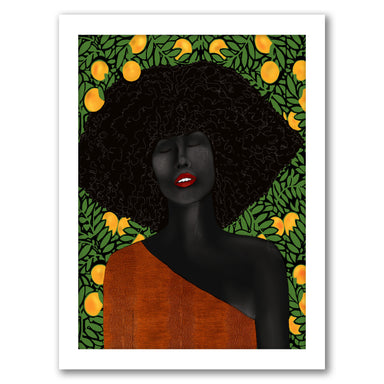Under The Udala by Uzo Njoku - Framed Print - Framed Print - Americanflat