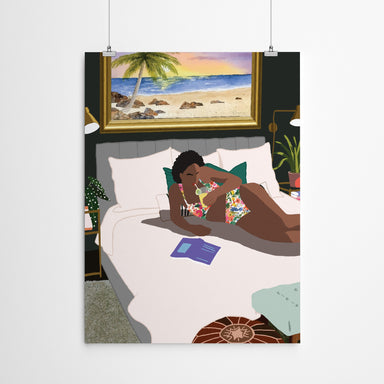 Vacation by Uzo Njoku - Art Print - Art Print - Americanflat