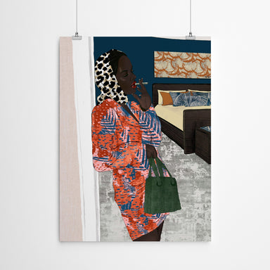 Working Woman by Uzo Njoku - Art Print - Art Print - Americanflat