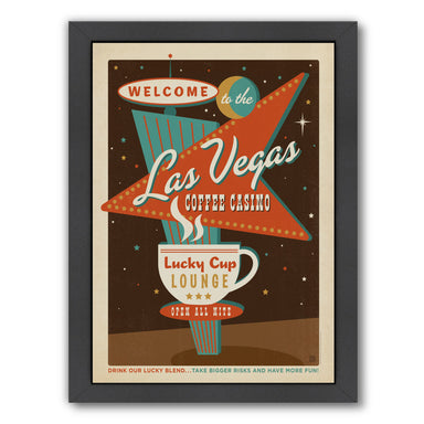Las Vegas Coffee by Anderson Design Group Framed Print - Wall Art - Americanflat