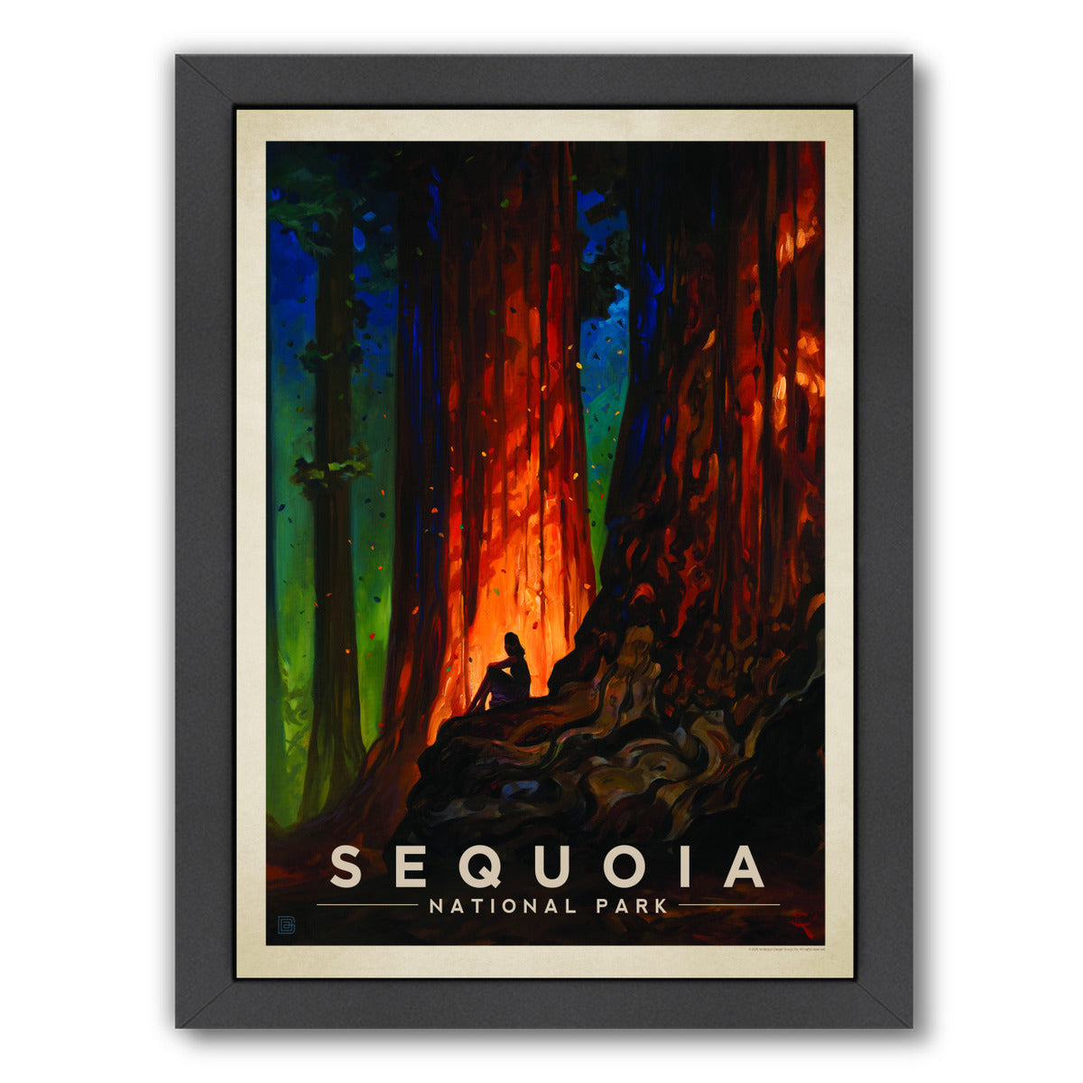 KC National Park Sequoia by Anderson Design Group Framed Print - Wall Art - Americanflat