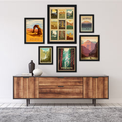 U.S. National Parks by Anderson Design Group Framed Art Set