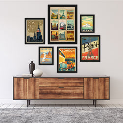 World Cities by Anderson Design Group Framed Art Set