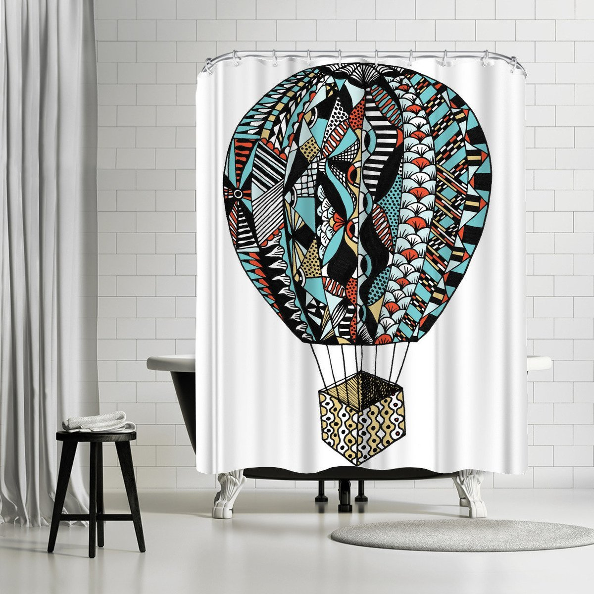 Air Balloon by Patricia Pino Shower Curtain - Shower Curtain - Americanflat