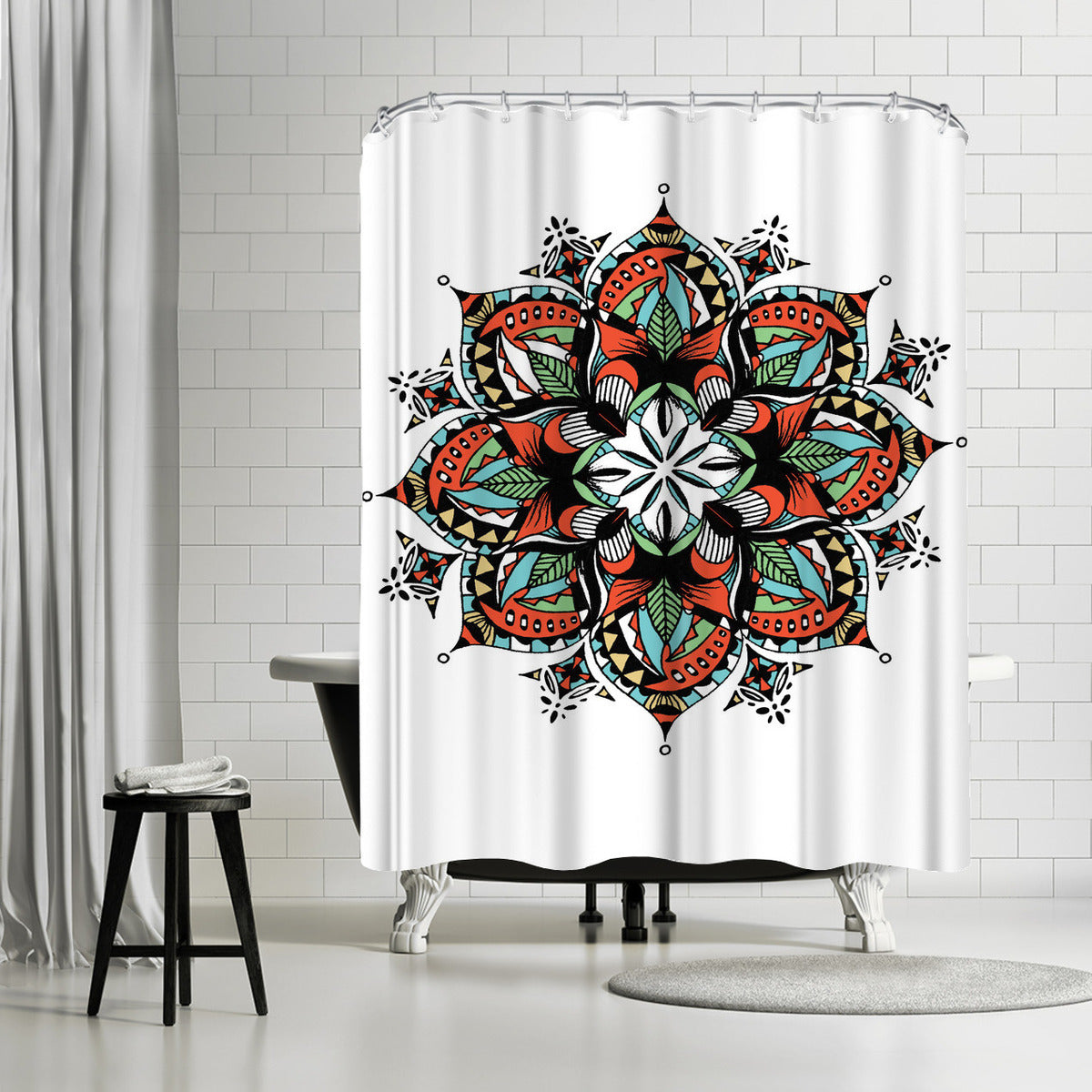 Mandala by Patricia Pino Shower Curtain -  - Americanflat