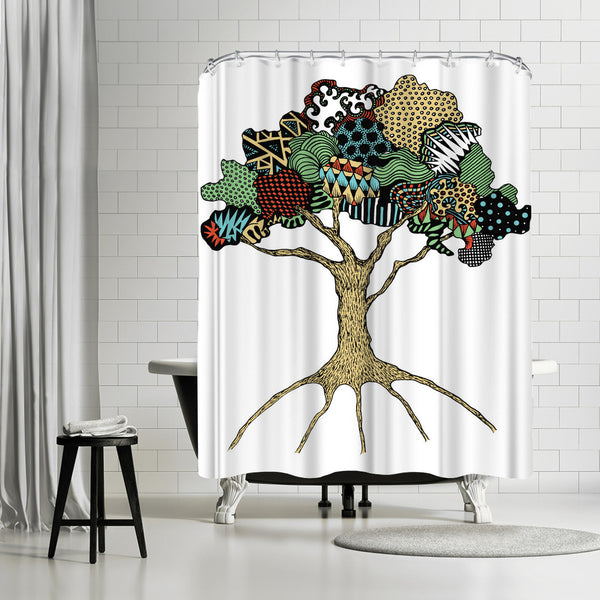 Tree by Patricia Pino Shower Curtain