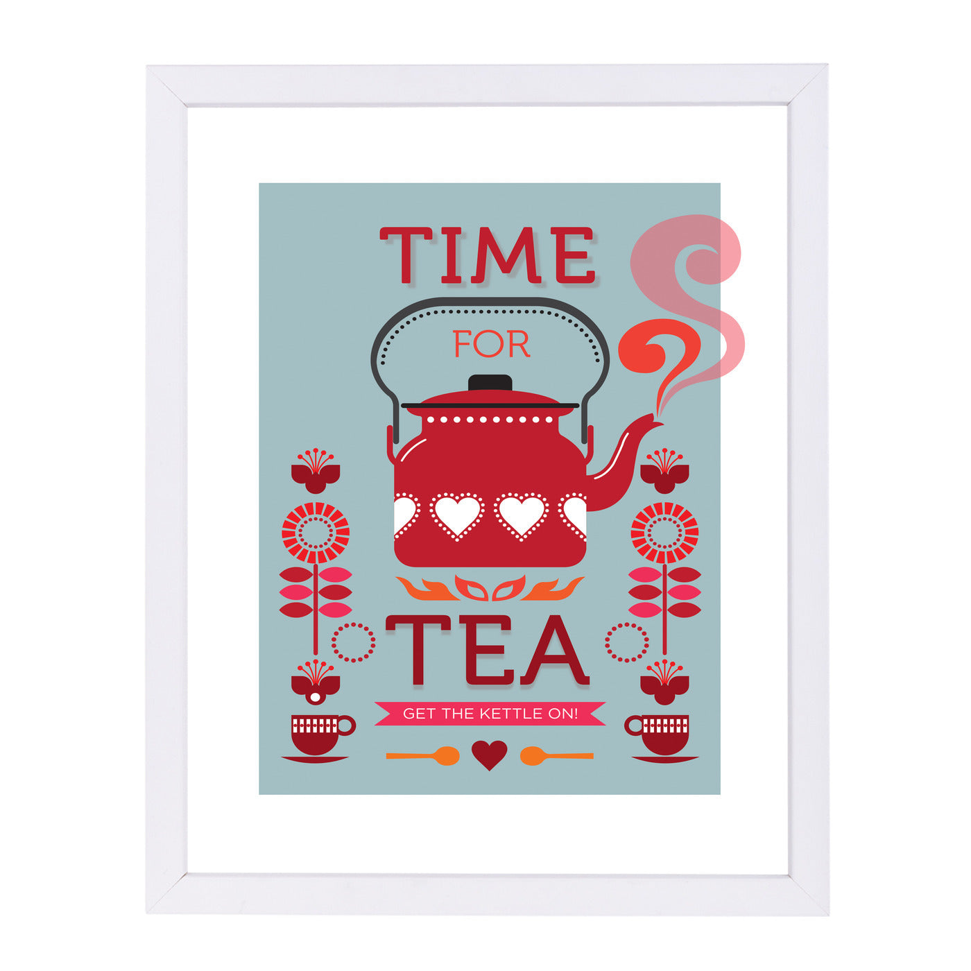 Time For Tea by Visual Philosophy Framed Print - Americanflat