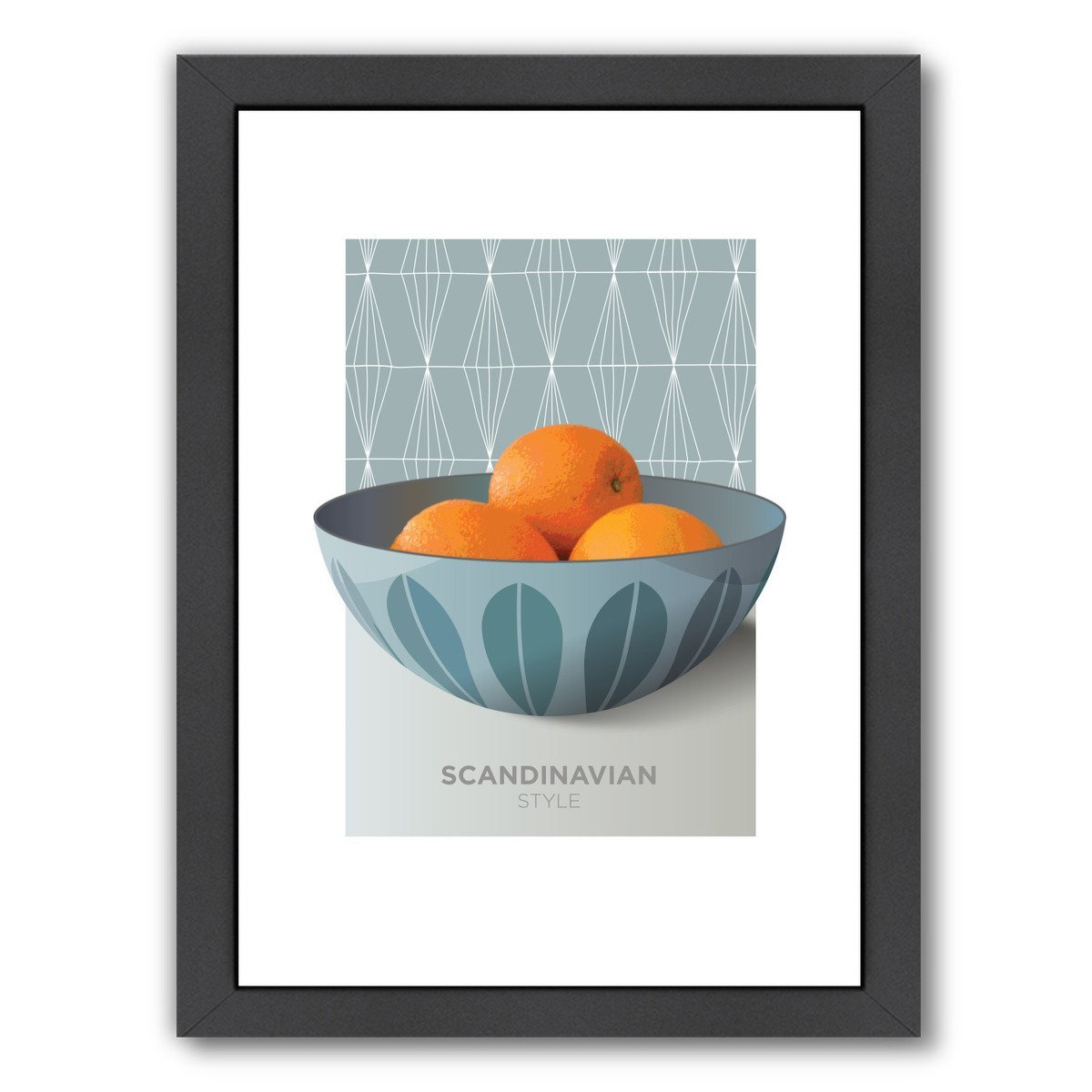 Cathrineholm Oranges by Visual Philosophy Framed Print - Americanflat