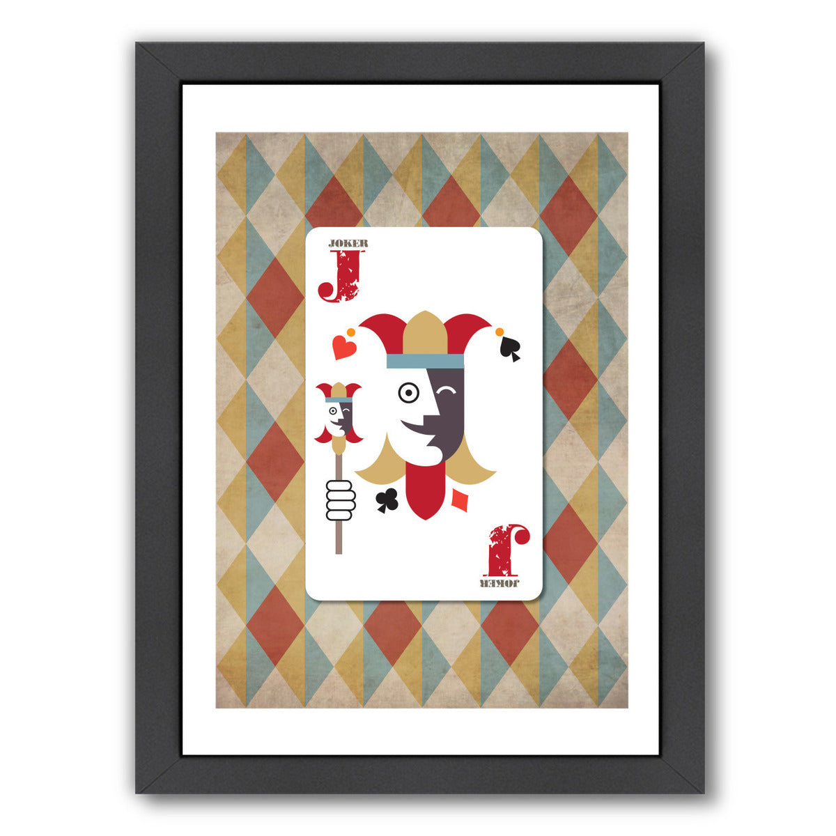Joker Poster by Visual Philosophy Framed Print - Wall Art - Americanflat