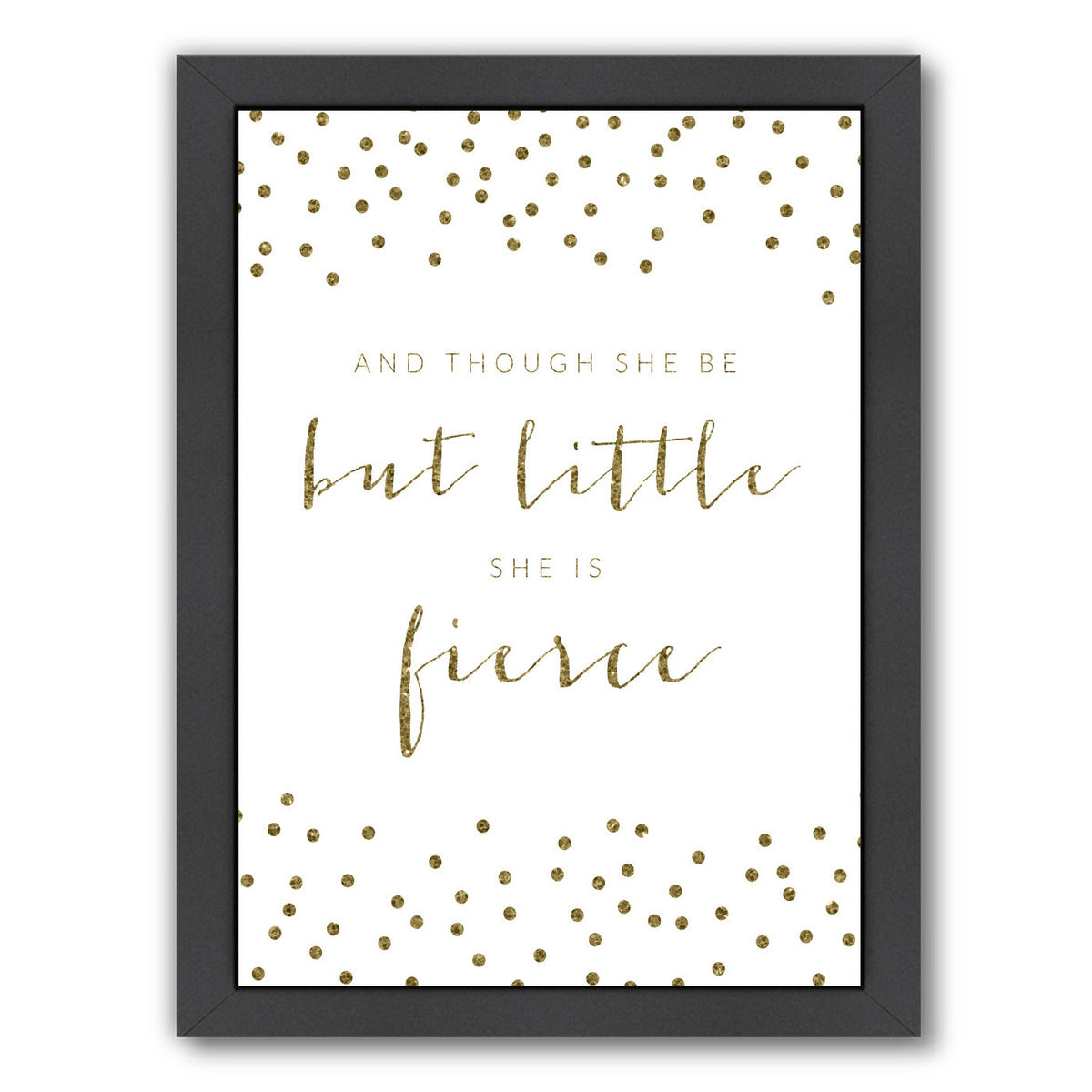 Fierce Sparkle Confetti by Samantha Ranlet Framed Print - Wall Art - Americanflat