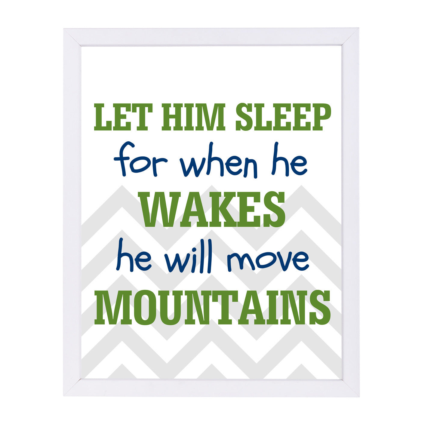 He Will Move Mountains by Samantha Ranlet Framed Print - Wall Art - Americanflat