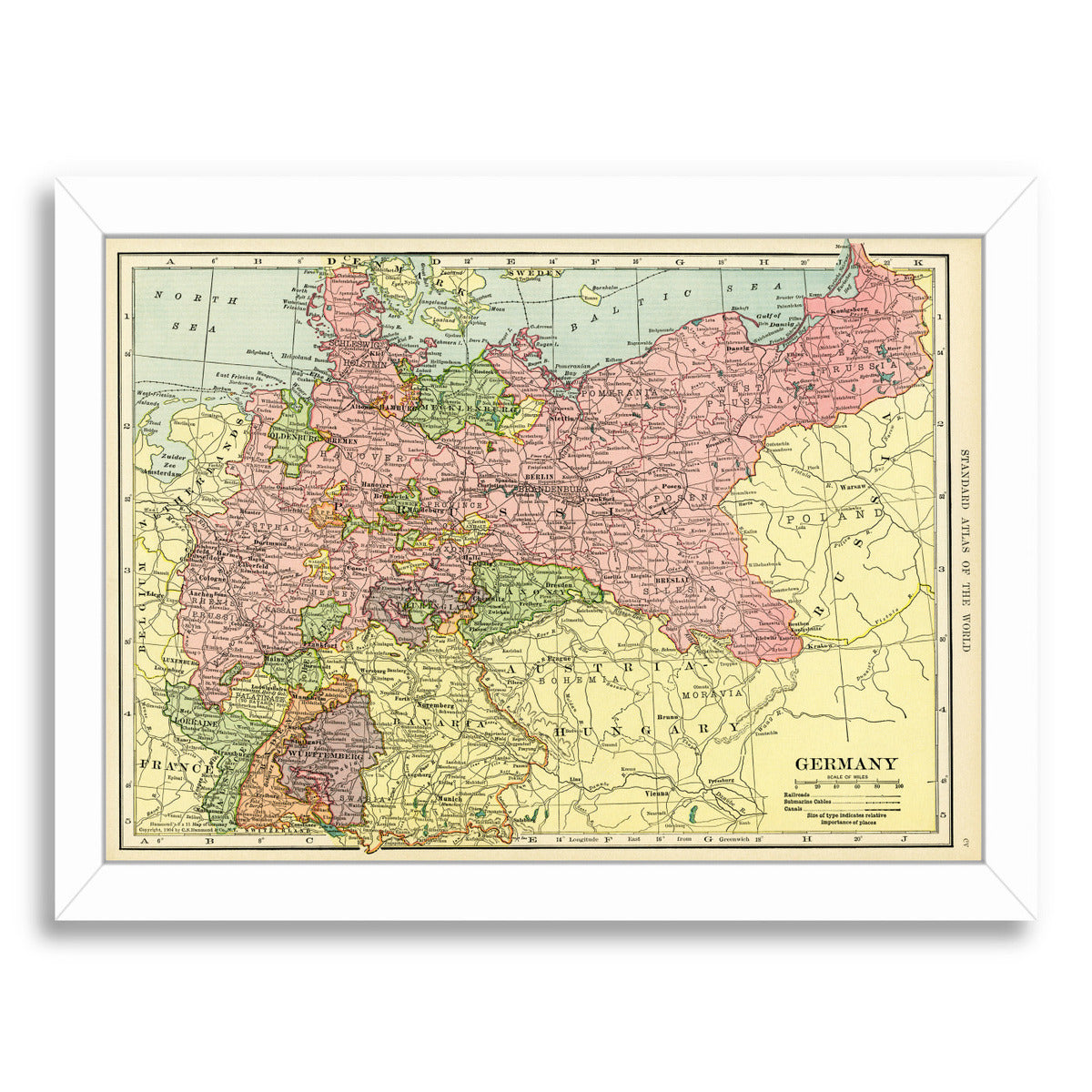 Germany 16X20 by Samantha Ranlet Framed Print - Wall Art - Americanflat