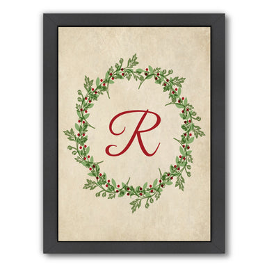 Christmas Wreath R by Samantha Ranlet Framed Print - Wall Art - Americanflat