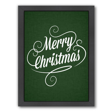 Merry Christmas Forest Jpg by Samantha Ranlet Framed Print - Wall Art - Americanflat