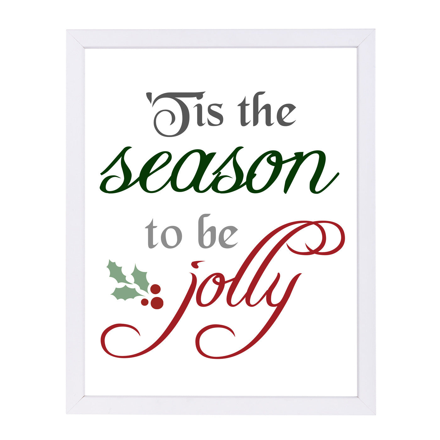 Tis The Season by Samantha Ranlet Framed Print - Wall Art - Americanflat