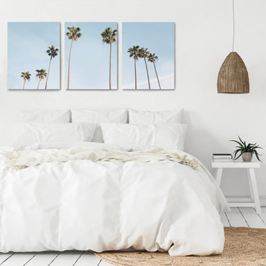 Palms in the Sun by Sisi and Seb - 3 Piece Canvas Triptych - Americanflat