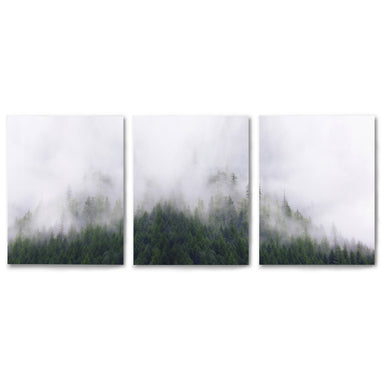 3 Piece Framed Triptych Stormy Moutains by Tanya Shumkina