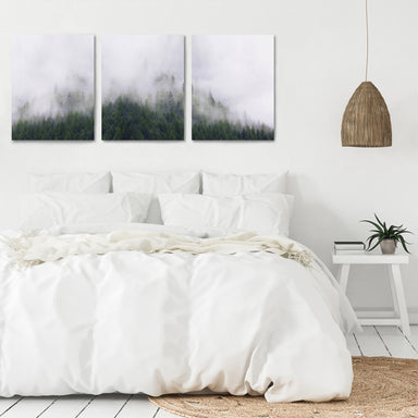 Stormy Moutains by Tanya Shumkina - 3 Piece Canvas Triptych - Americanflat