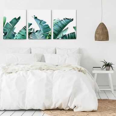 Tropical Palms by Tanya Shumkina - 3 Piece Canvas Triptych - Americanflat