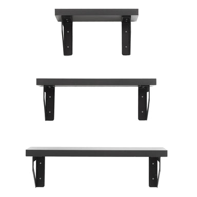 Floating Wall Shelves - Pack of 3 - Shelf - Americanflat