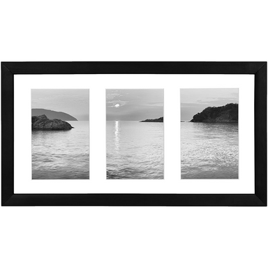 "8"" x 14"" Collage Picture Frame - 3 Displays - Americanflat"