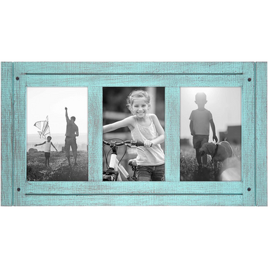 Rustic Collage Picture Frame - 3 Openings - Americanflat