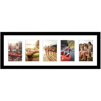 Black Collage Picture Frame - 5 Displays - Americanflat