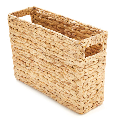 Natural Hand Woven Water Hyacinth Basket - Basket - Americanflat