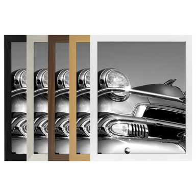 Poster Frame in Wood with Shatter Resistant Plexiglass - Poster Frame - Americanflat