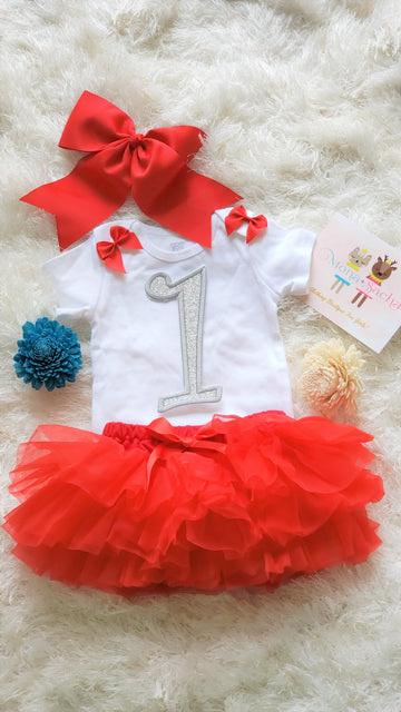 Princess Birthday Tutu Set, My First Birthday