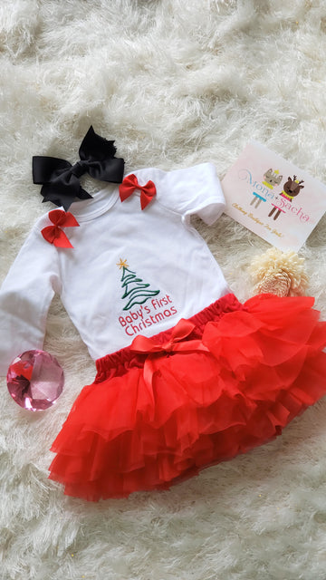 My First Christmas Tutu Set, Christmas Tree