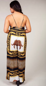 Leopard Jumpsuit Plus