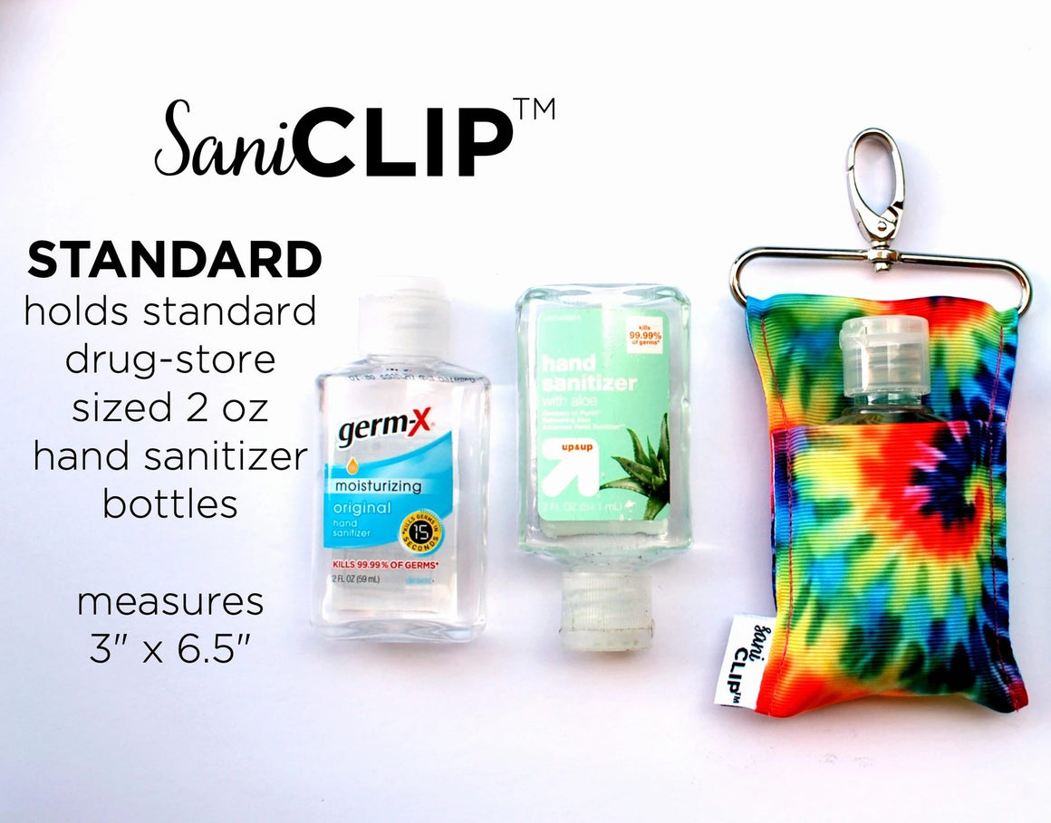 SaniClip - Sanitizer Holder