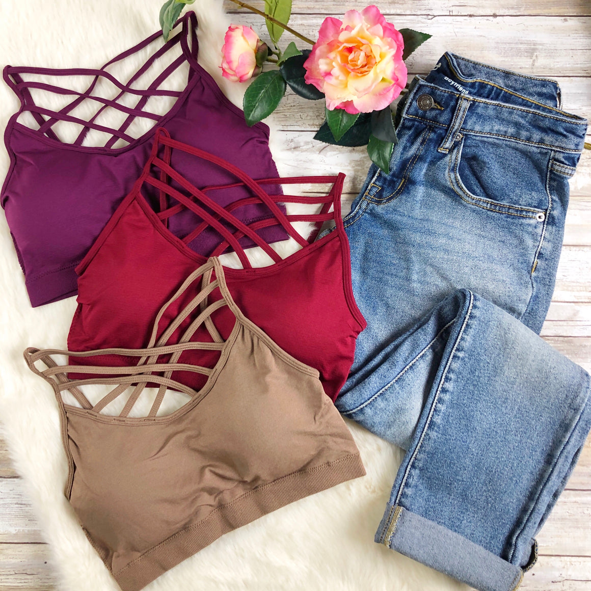 Triple Cross Bralette