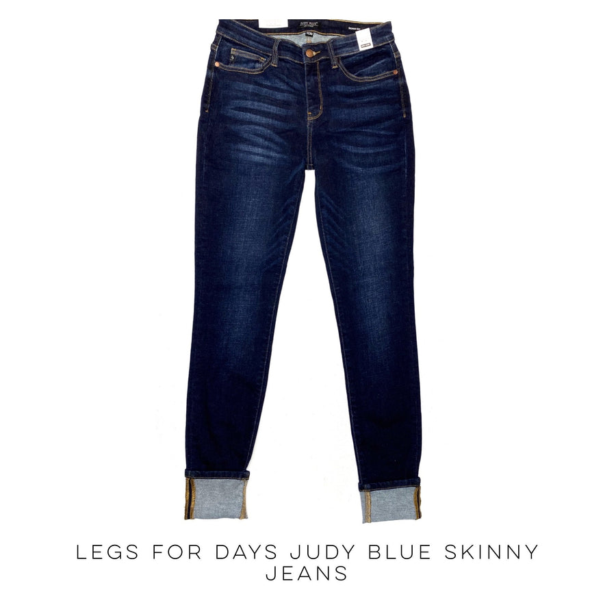 Legs for Days Judy Blue Skinny Jeans