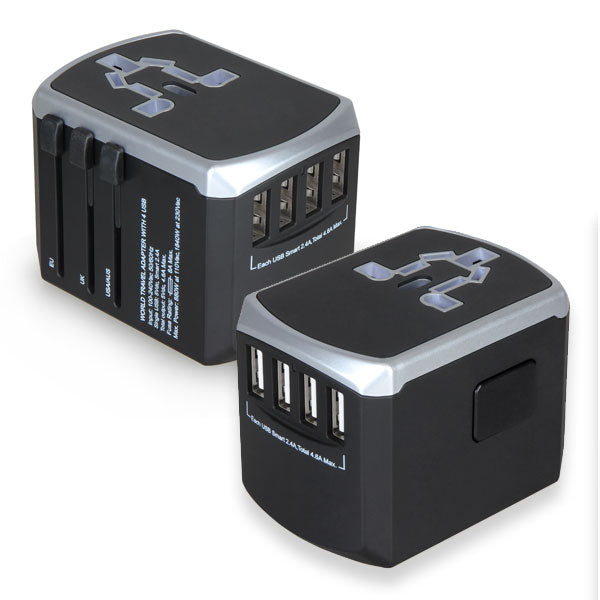 Travel Adaptor with 4 USB Port